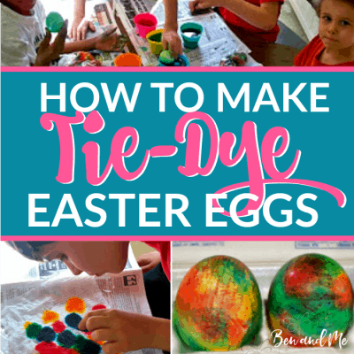 How to Make Tie-Dye Easter Eggs