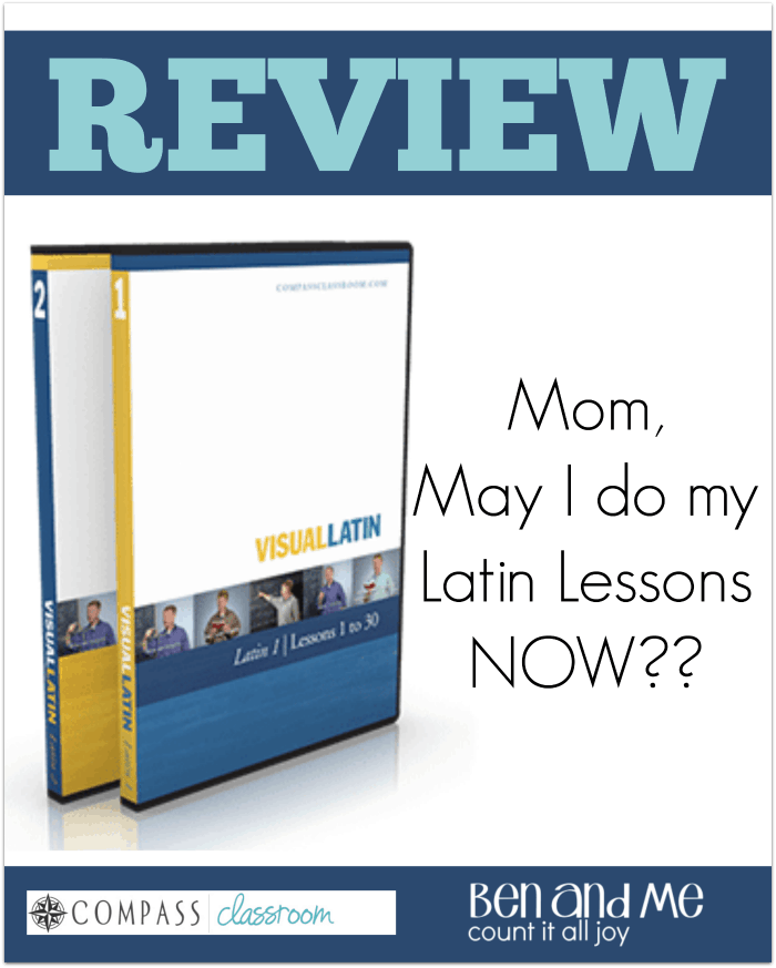Visual Latin Curriculum Review (DVDs and Downloads Available)