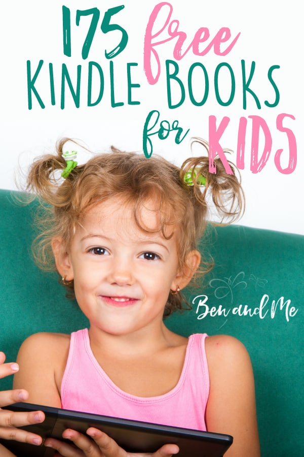 Parents can save huge amounts of money by purchasing a Kindle ereader and then loading it with free books. This list of 175 free Kindle books for kids will enhance any homeschool, no matter what homeschool curriculum you use. #homeschool #homeschoolcurriculum #homeschooling #homeed #homeeducation