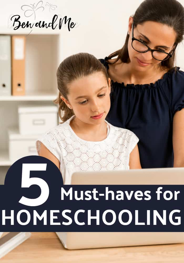 These are the must-haves for homeschooling I would share with you if you emailed me or if we were sitting across from each other discussing what our homeschool day looks like over a cup of tea. #homeschool #homeschooling #homeeducator #homeeducation #hsbloggers