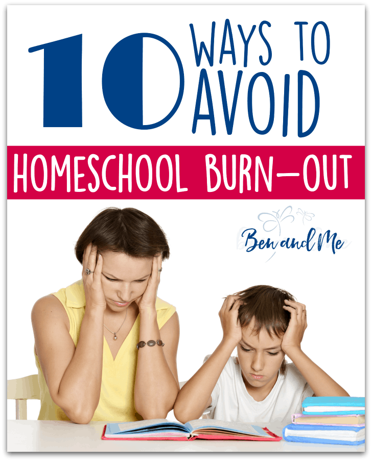 So just how do you avoid this thing called homeschool burn-out? I've come up with a list of 10 things I think will help. #homeschool #homeschooling #homeschoolmoms