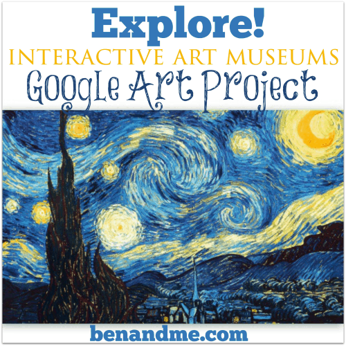Explore Interactive Art Museums with Google Art Project