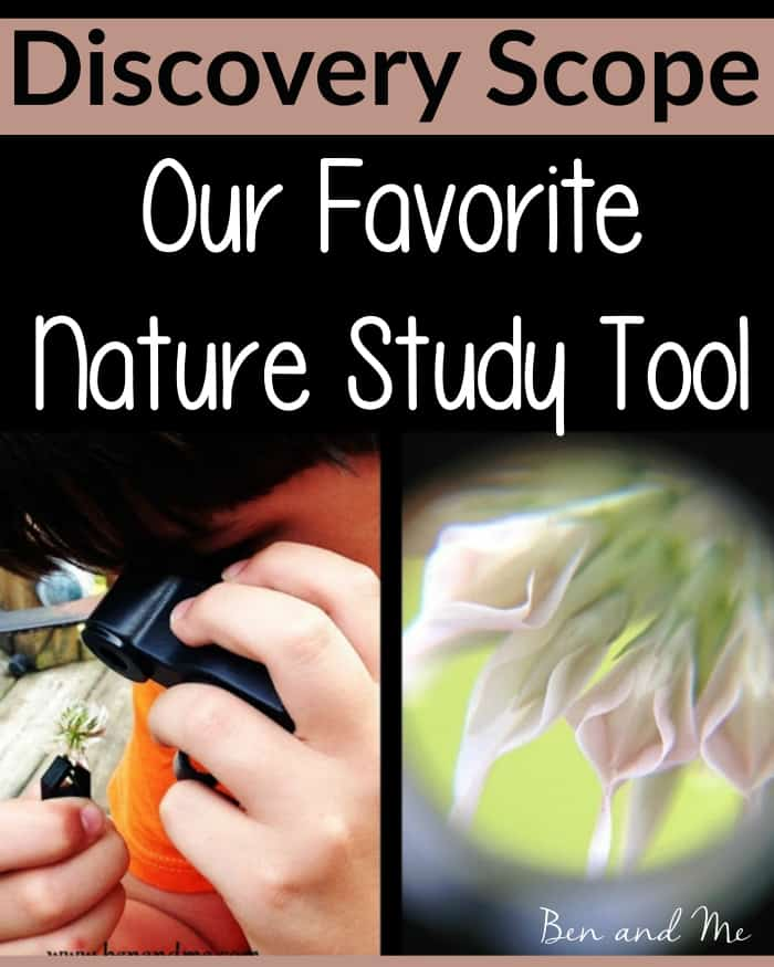 Discovery Scope -- our favorite nature study tool