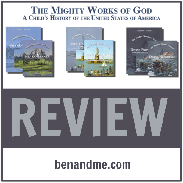 Review: The Mighty Works of God {a child's history of the United States}