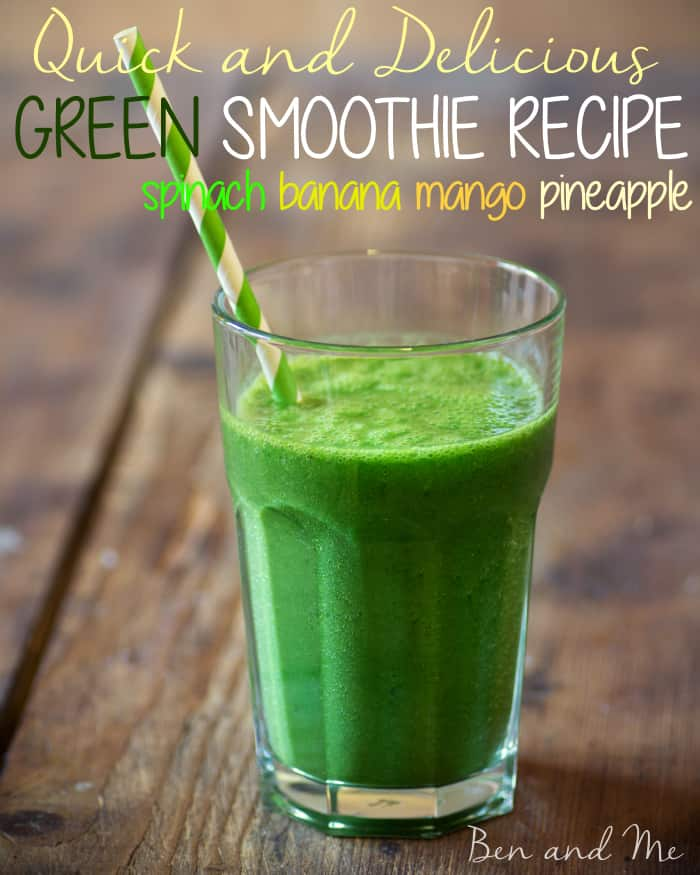 Quick and Delicious Green Smoothie Recipe