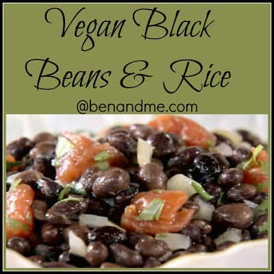 Vegan Black Beans and Rice Recipe