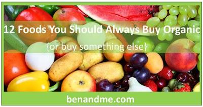 12 Foods You Should Always Buy Organic (or buy something else) . . .
