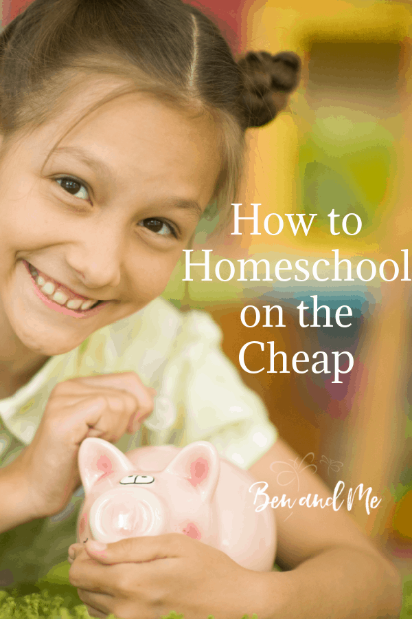 Over my many years of homeschooling, I have discovered ways to save money when homeschooling. Here, I share with you what I've learned about how to homeschool on the cheap.  #homeschool #homeschooling #frugalhomeschool #homeschoolmom #homeschoolforfree #homeschooldeals #homeschoolfreebies