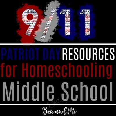 Patriot Day Resources for Homeschooling Middle School
