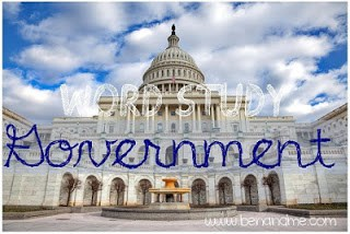 Word Study — Government