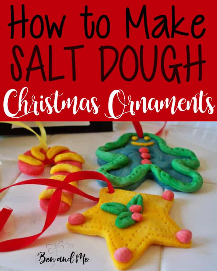 How to make salt dough ornaments ben and me