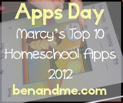 Marcy's Top 10 Favorite Homeschool Apps for iPad