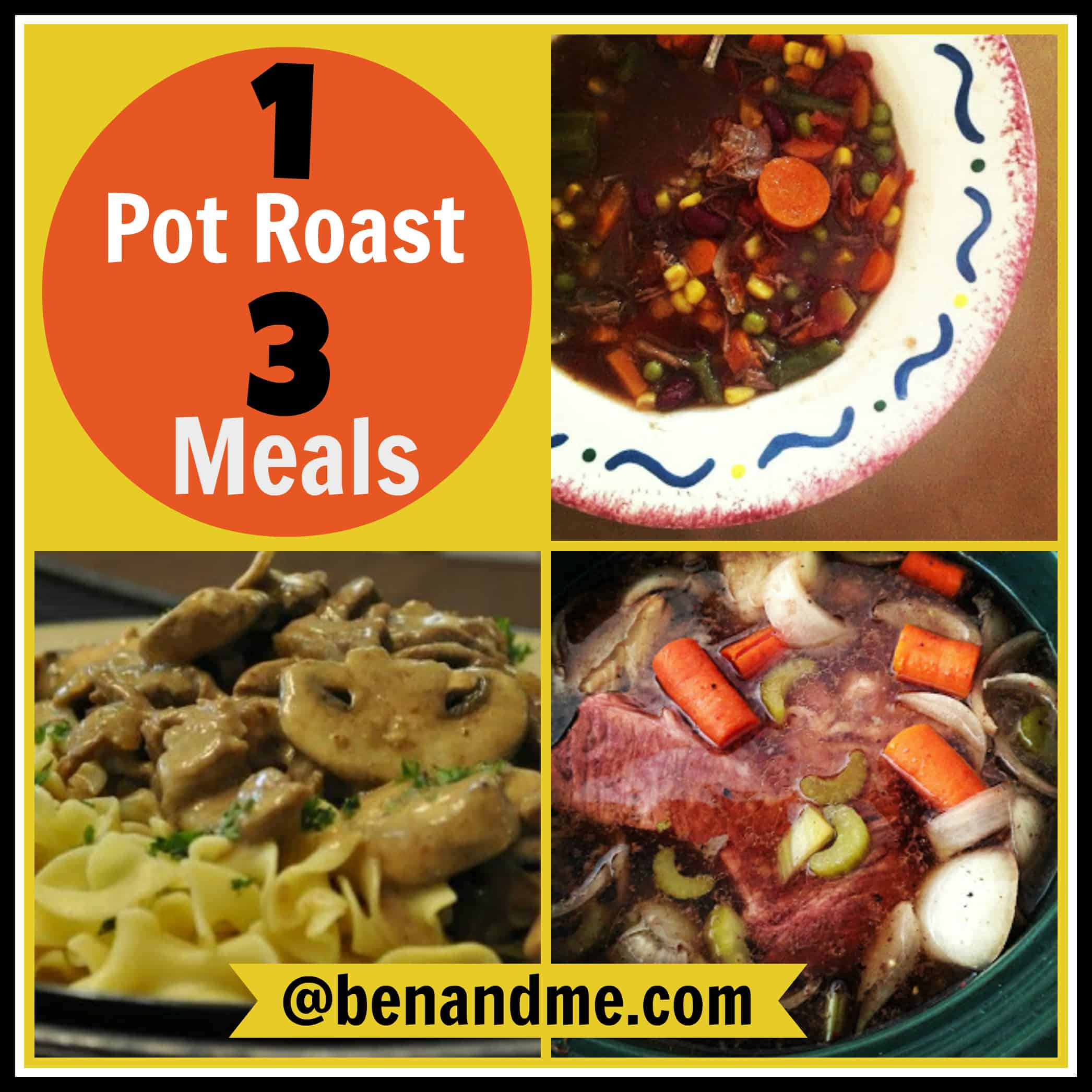 Three Meals from One Slow Cooker Pot Roast — Recipes Included