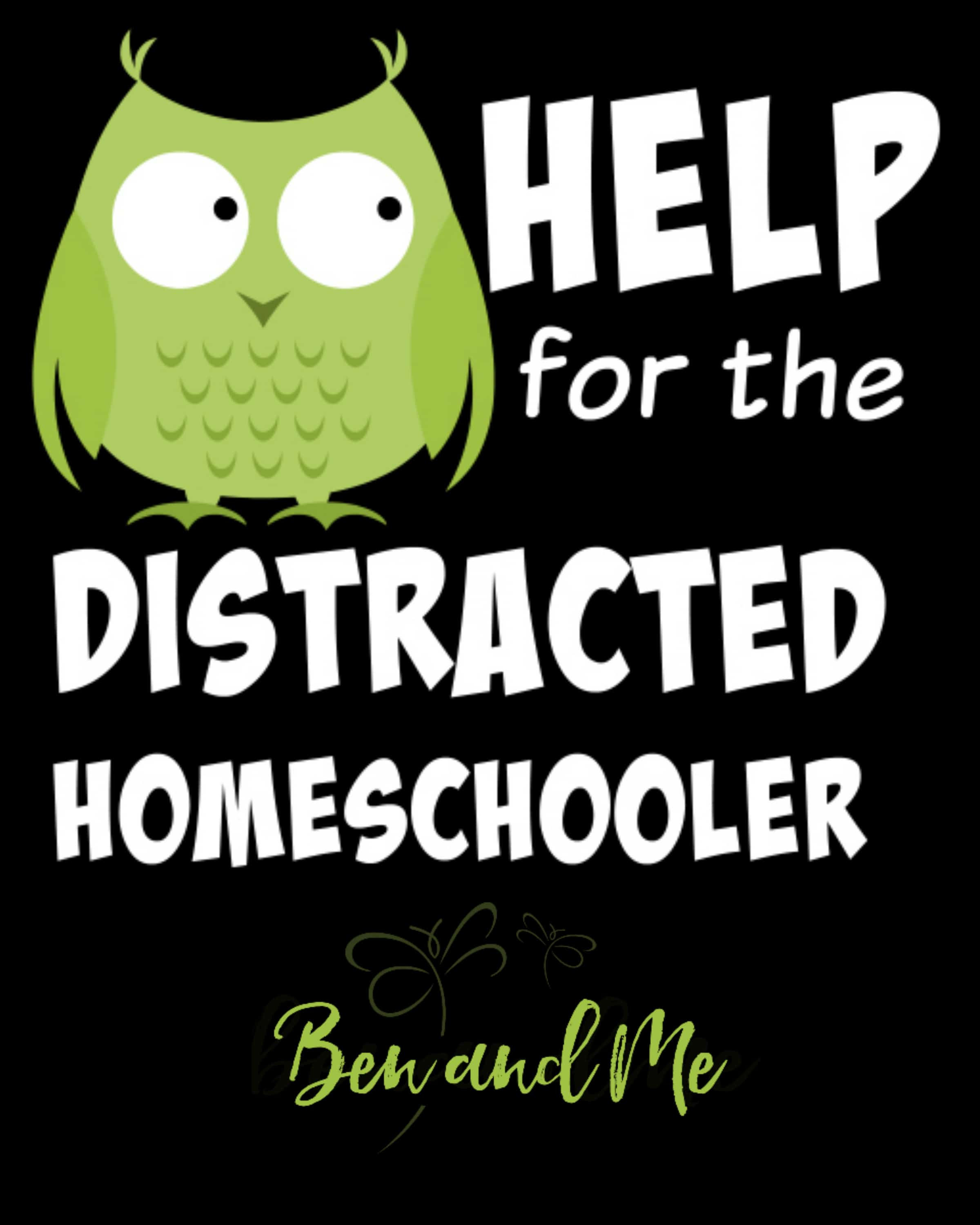 Help for the Distracted Homeschooler