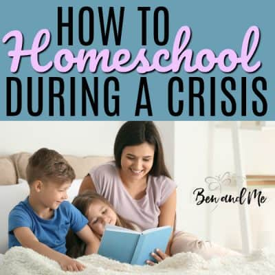 How to Homeschool During a Crisis