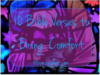 10 Bible Verses to Bring Comfort