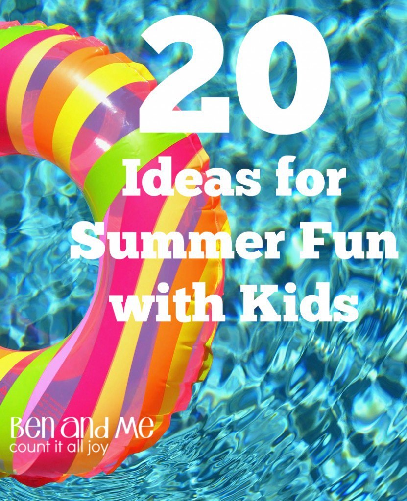 Do you homeschool through the summer? Take a look at these ideas to make summer fun while learning. #homeschool