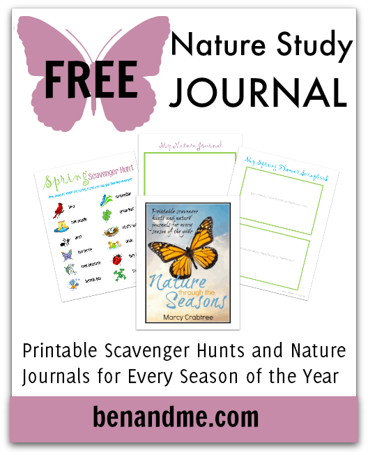 Free Nature Study Journal Spring