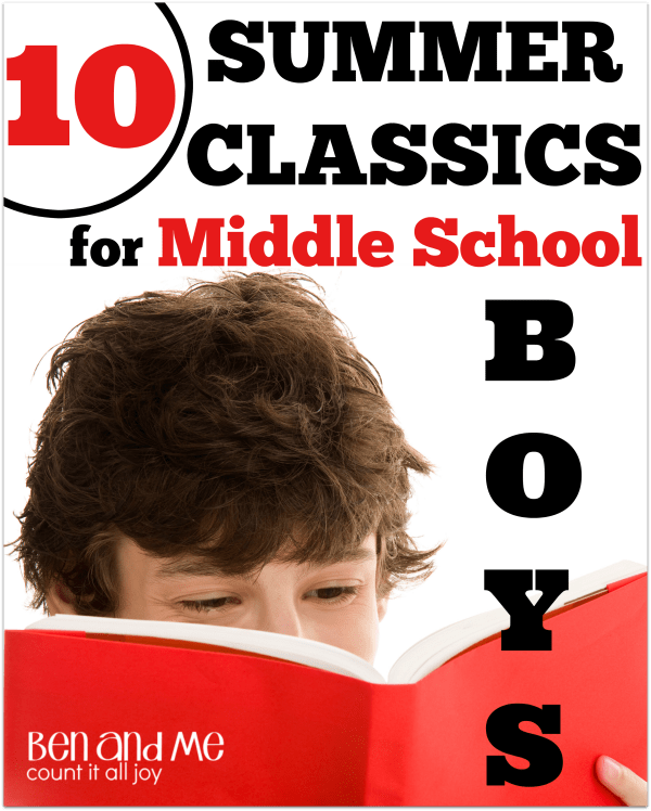 10 Summer Classics for Middle School Boys
