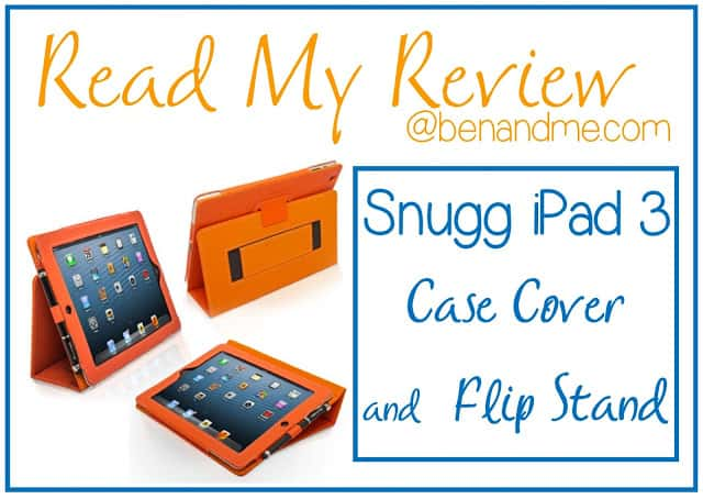 The Snugg iPad 3 Case Cover and Flip Stand (Product Review)