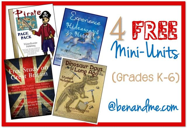 4 FREE Mini Units from Winter Promise