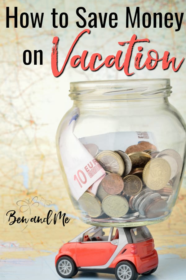 For some, learning how to save money on vacation may be the difference between being able to take a vacation or not. If frugal living is your jam, you'll love all these ways to make a vacation happen for your family.  #frugalliving #frugalfamily #frugalmom #vacationsavings #howtosavemoney #savingmoney