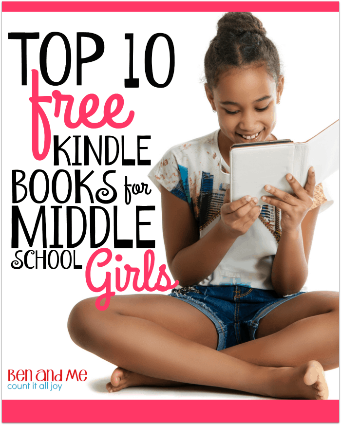 Top 10 Free Kindle Books for Middle School Girls