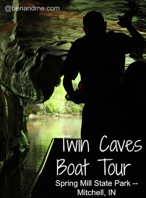 Spring Mill State Park (Mitchell, IN) — Twin Caves Boat Tour