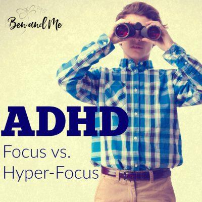 ADHD: Focus vs. Hyper-focus
