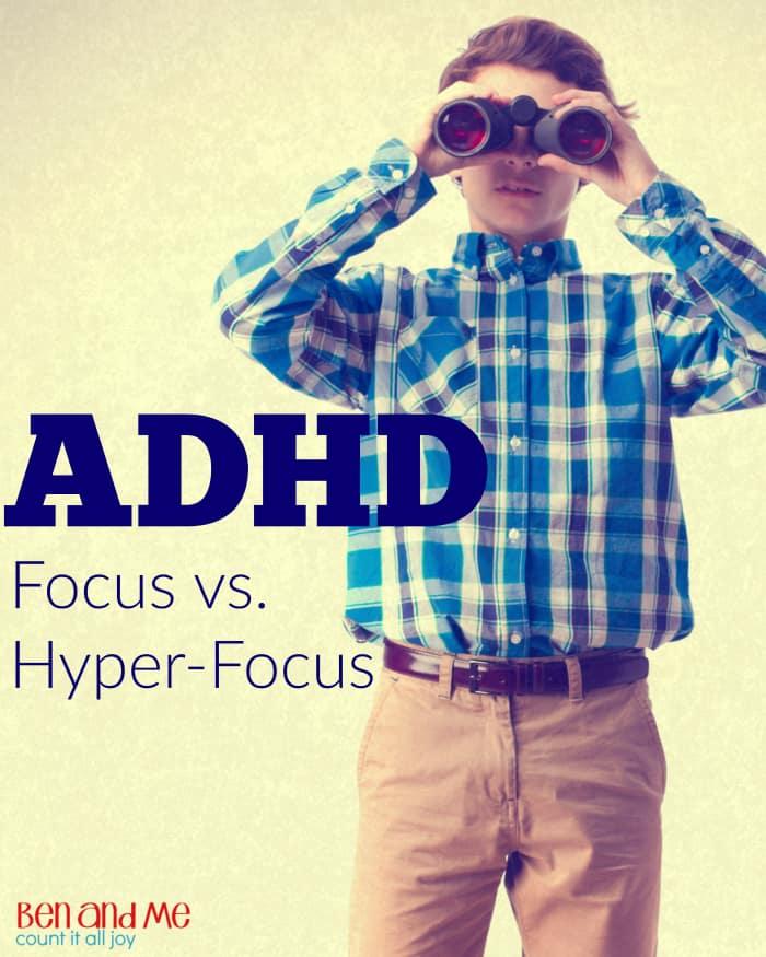 ADHD Focus vs. Hyper-focus