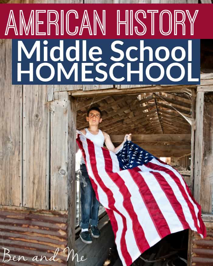 American History for Middle School Homeschool -- Notgrass America the Beautiful