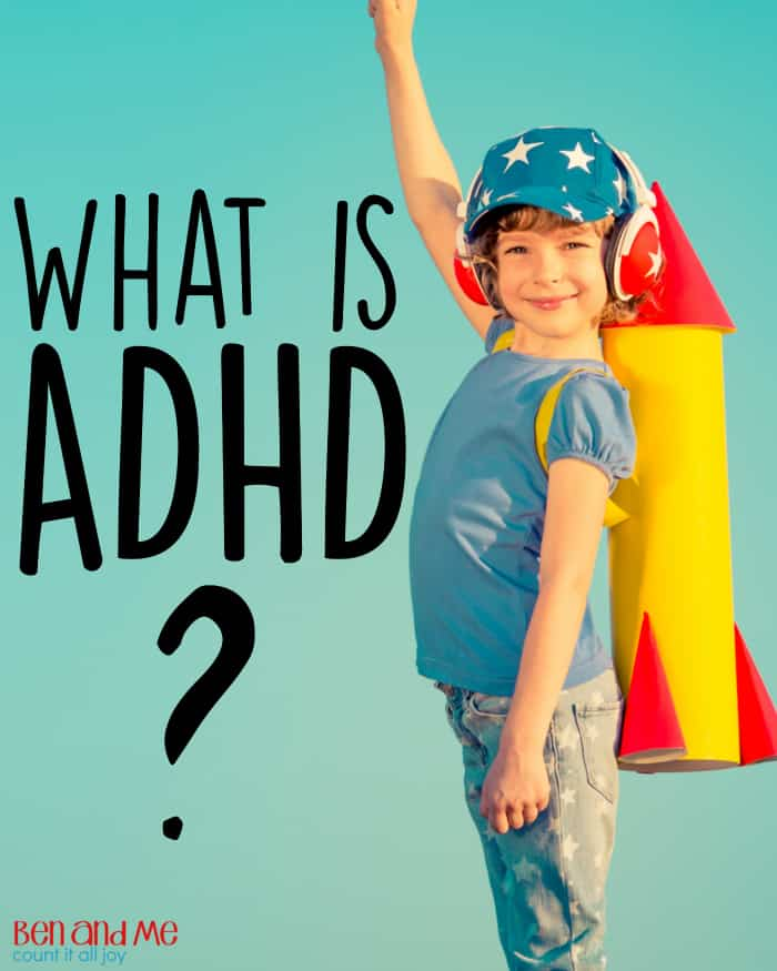 What is ADHD -- When your 8, 9, or 10 year old boy is still acting without thinking, forgetting simple directions, constantly fidgeting or talking, then it's much more likely that his behavior goes beyond typical boy behavior.