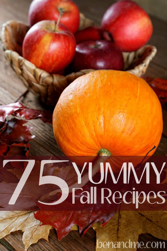 75 Yummy Fall Recipes -- While I love the freshness of the summer farmer's market salad fixins' and fruit, nothing beats the soul-satisfying comfort foods of autumn.