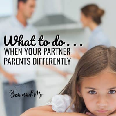 What To Do When Your Partner Parents Differently
