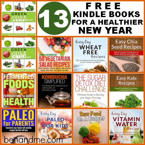 13 Free Kindle Books for a Healthier New Year