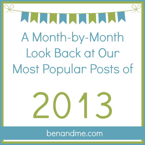 A Month-by-Month Look Back at 2013