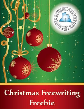 Christmas Freewriting Freebie
