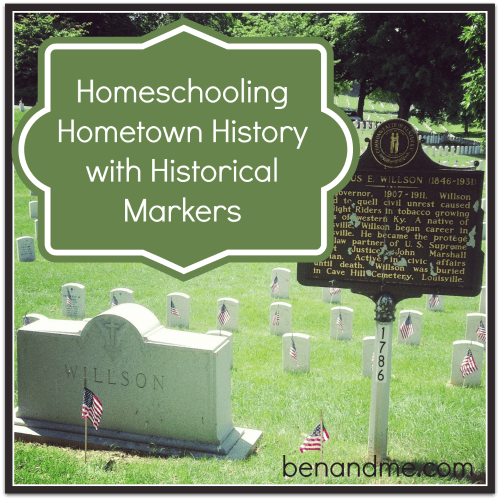 history with historical markers