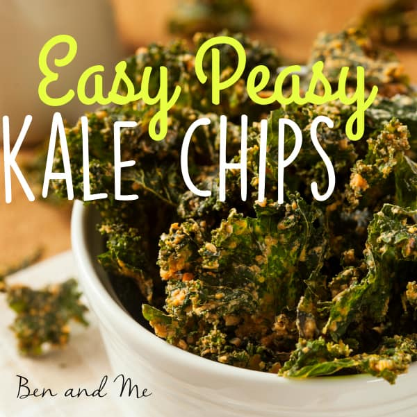 When you buy too much kale . . . make Easy Peasy Kale Chips