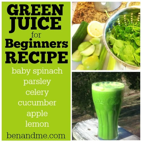 Juice Fast 2014 {Day 8} — Green Juice for Beginners Recipe