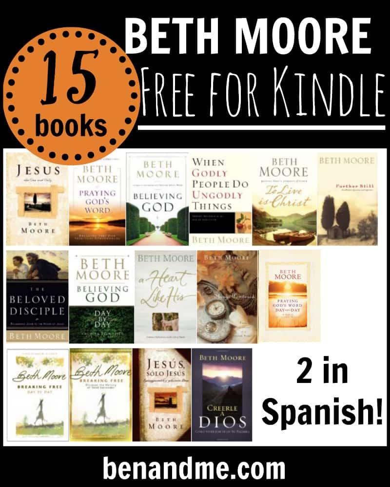 beth moore free kindle books