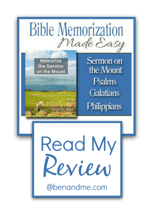Bible Memorization Made Easy Review (Memorize the Sermon on the Mount)