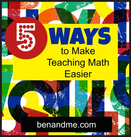 teaching math easier