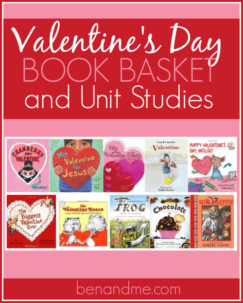 February is a great month for some themed homeschool days. And Valentine's Day is one of my favorite. Love and chocolate. What's better than that? Enjoy these books and unit studies.