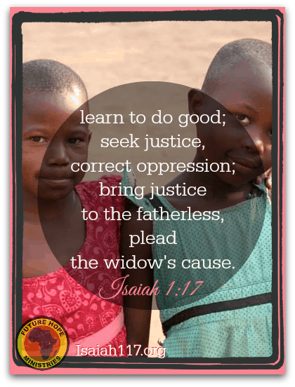 Helping Children in Uganda (day one) — Justice for the Fatherless