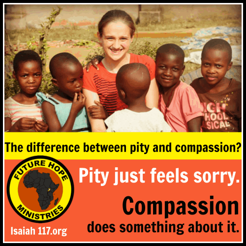 Helping Children in Uganda (day five) — Pity or Compassion?