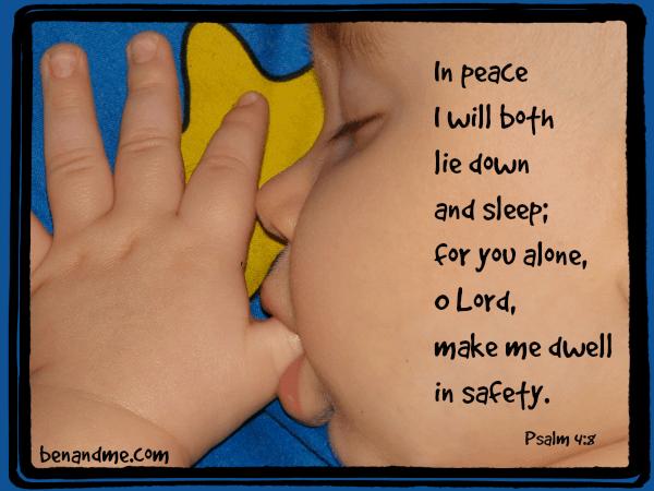 sleep psalm 4.8