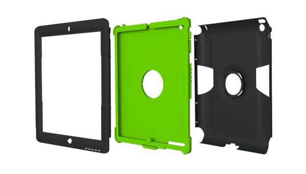 Trident iPad Case parts