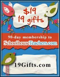 SchoolhouseTeachers.com — $19 and 19 Gifts