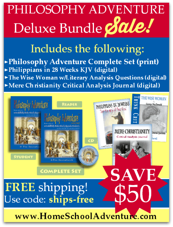 Save BIG on Biblical Worldview Curriculum for Middle and High School